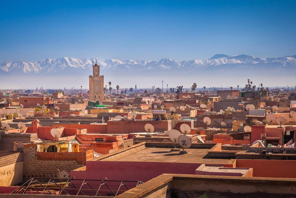 Marrakech, Atlas Mountains, Morocco