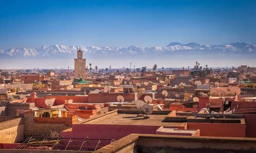 Marrakech, Atlas Mountains, Morocco