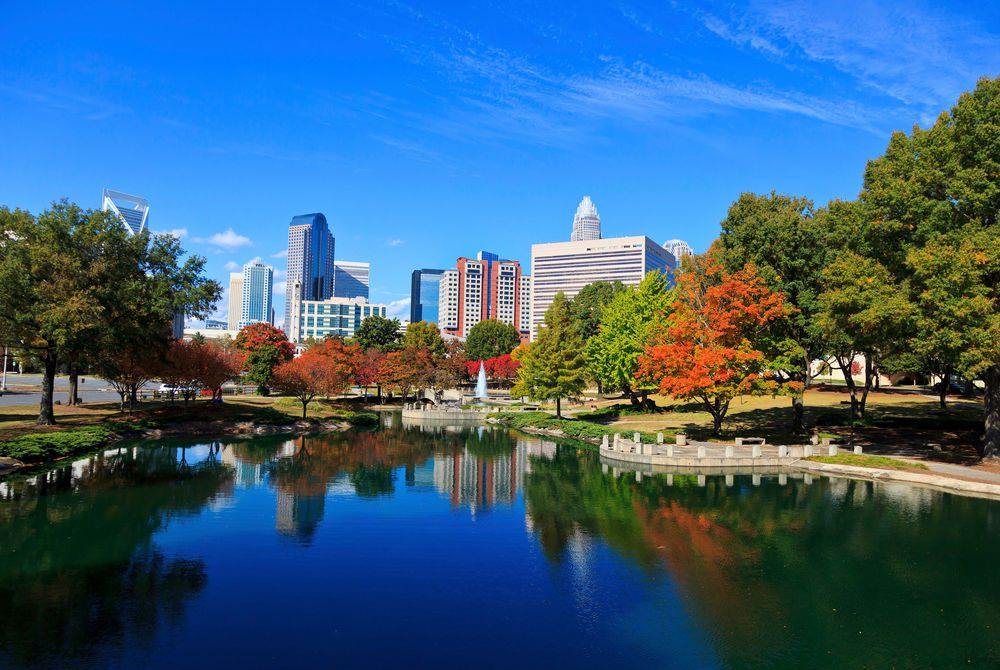 Marshall Park, Charlotte, North Carolina