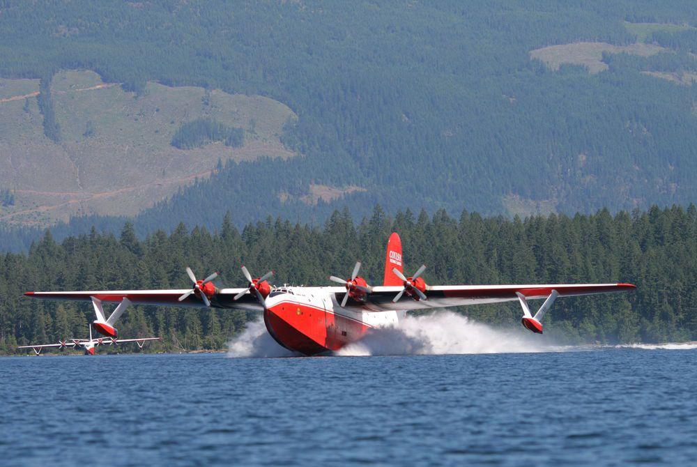 Martin Mars Water Bomber, Tofino, Canada