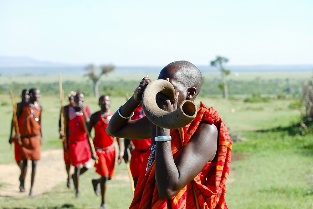 Masai tribesman, Kenya