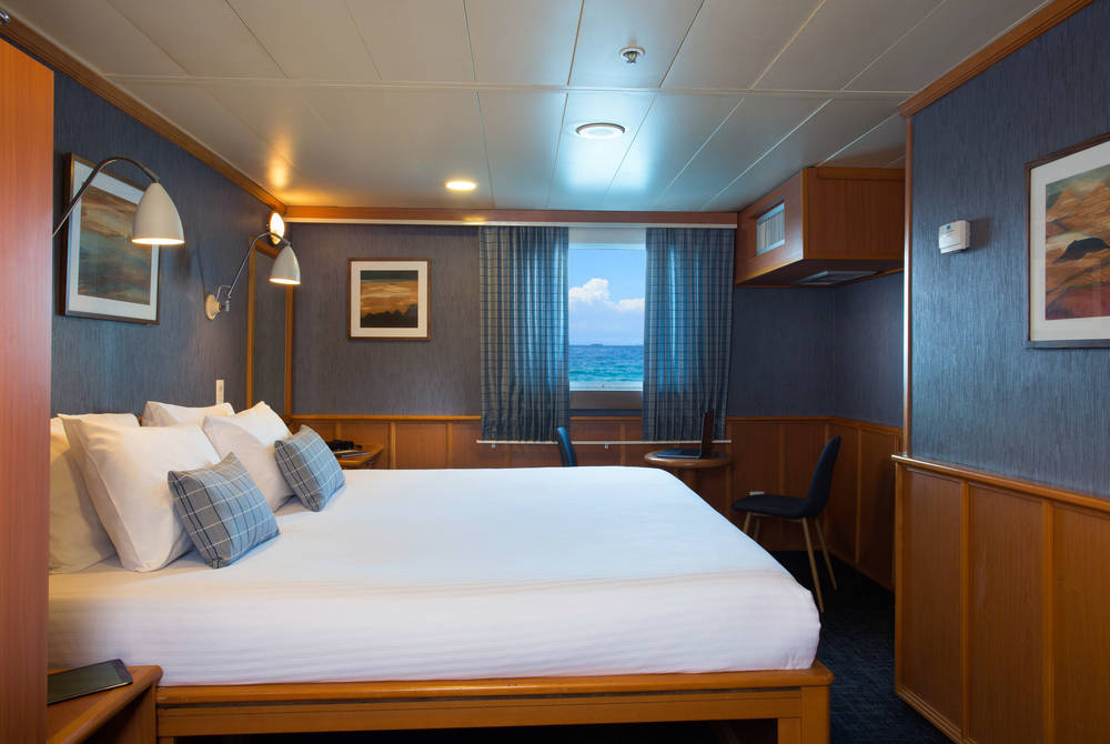 Master cabin, Isabela II Yacht, Galapagos