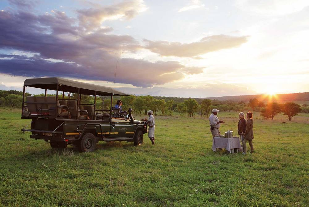 Game drive sundowner