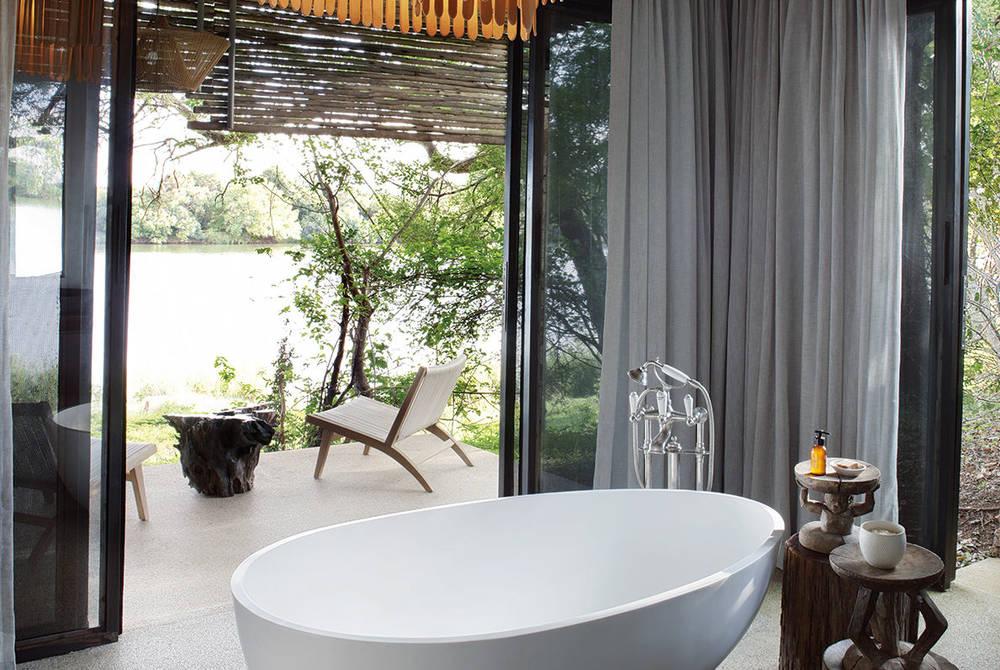 Bathroom, Matetsi Victoria Falls, Zimbabwe