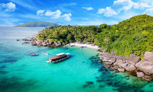 May Rut island in Phu Quoc, Kien Giang, Vietnam