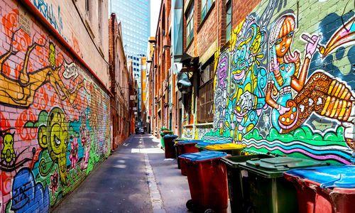 Melbourne backstreets, Australia