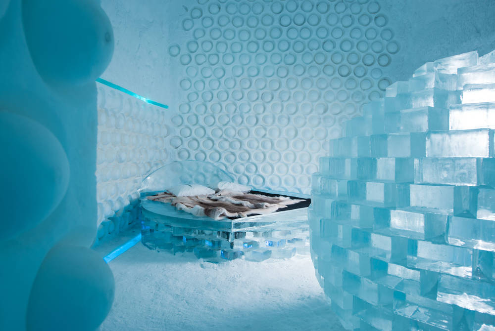 Melting Pot Art Suite, ICEHOTEL 365 (© Asaf Kliger)
