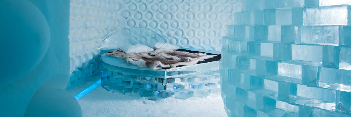 Melting Pot Art Suite, ICEHOTEL 365 2017 (© Asaf Kliger)