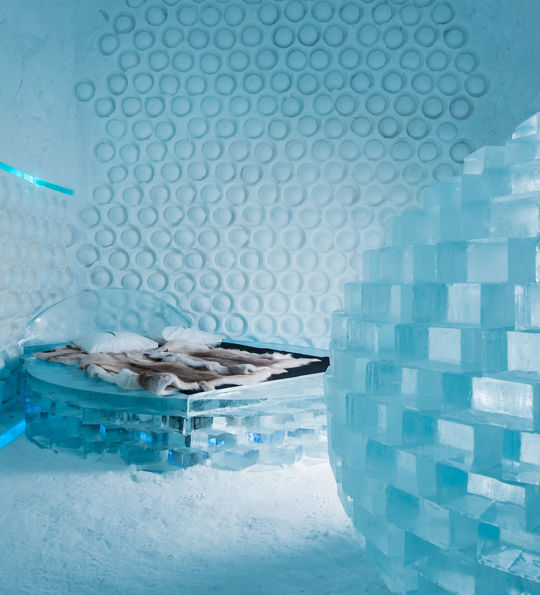 'Melting Pot' Art Suite, ICEHOTEL 365 (Credit: Asaf Kliger)