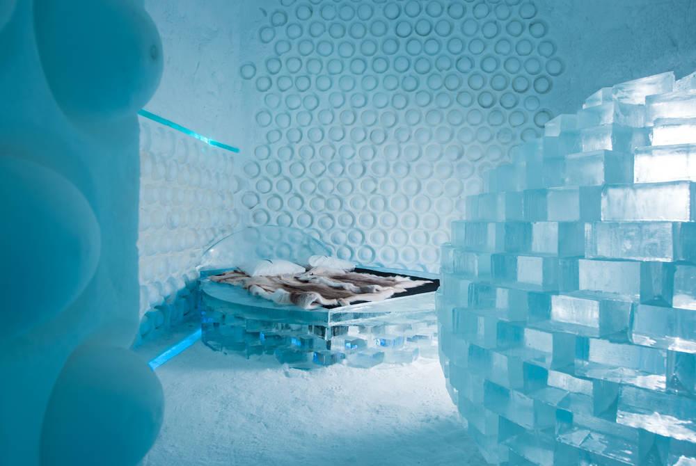 Melting Pot Art Suite, ICEHOTEL 365 (© Asaf Kliger)