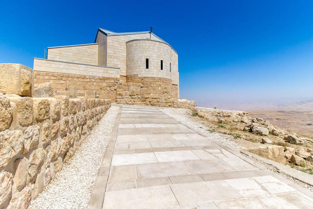Memorial Church at Mt. Nebo, Jordan