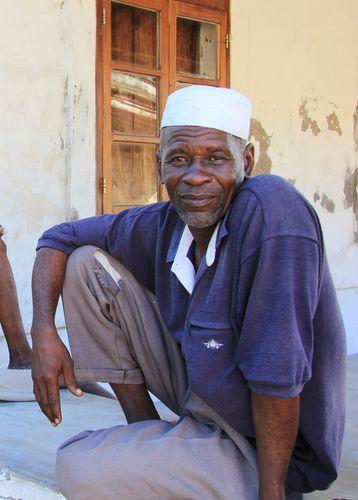 Men in Ibo Island Mozambique