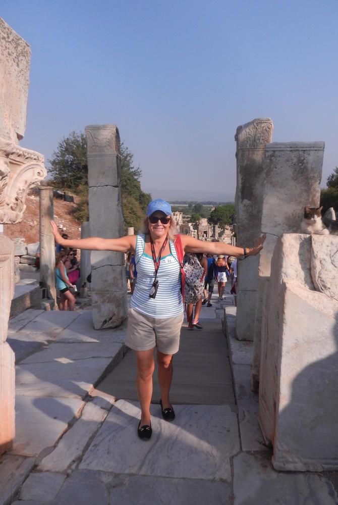 Meriel Lowe in Ephesus