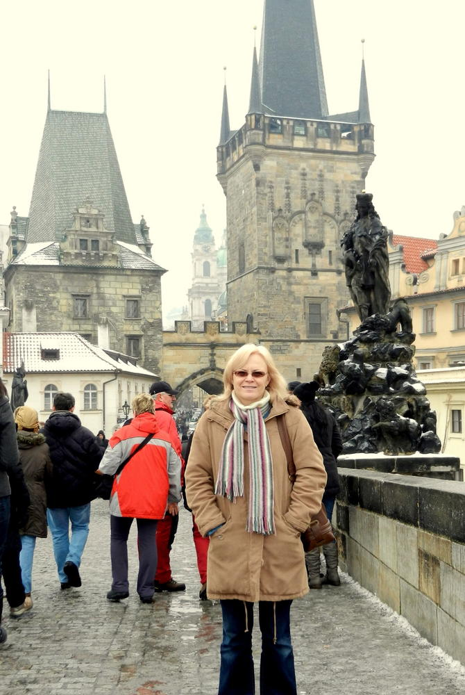 Meriel Lowe in Prague