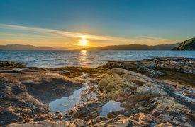 Midnight Sun, Finnmark, Norway