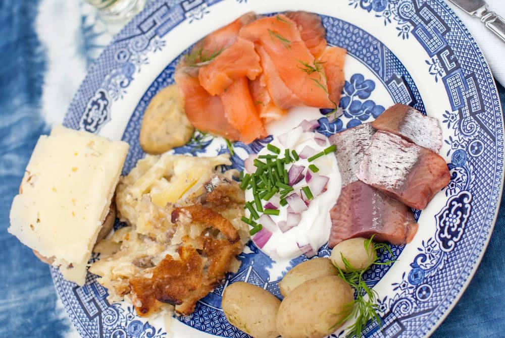 Traditional Midsummer food
