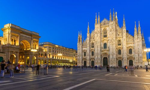 Milan Cathedral (Duomo di Milano), and Piazza del Duomo, Milan