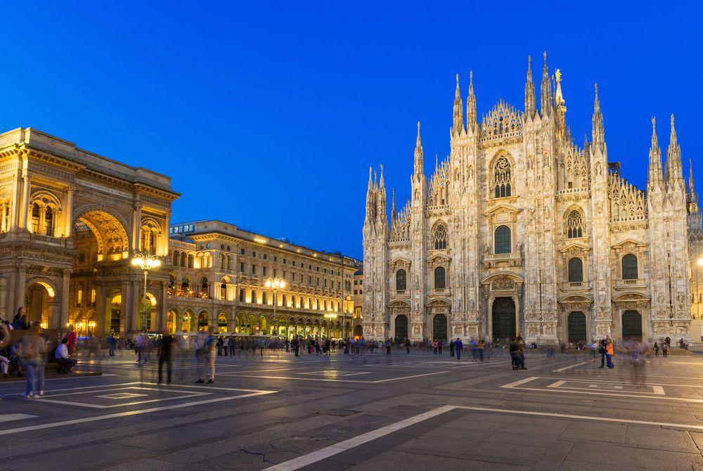Milan Cathedral (Duomo di Milano), Vittorio Emanuele II Gallery and Piazza del Duomo, Milan