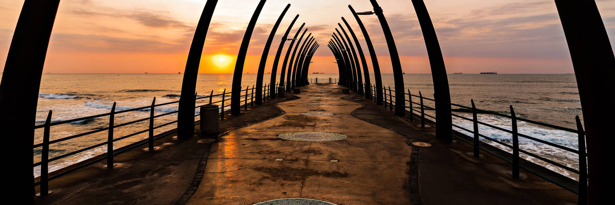 Millenium Pier in Umhlanga, Durban, South Africa