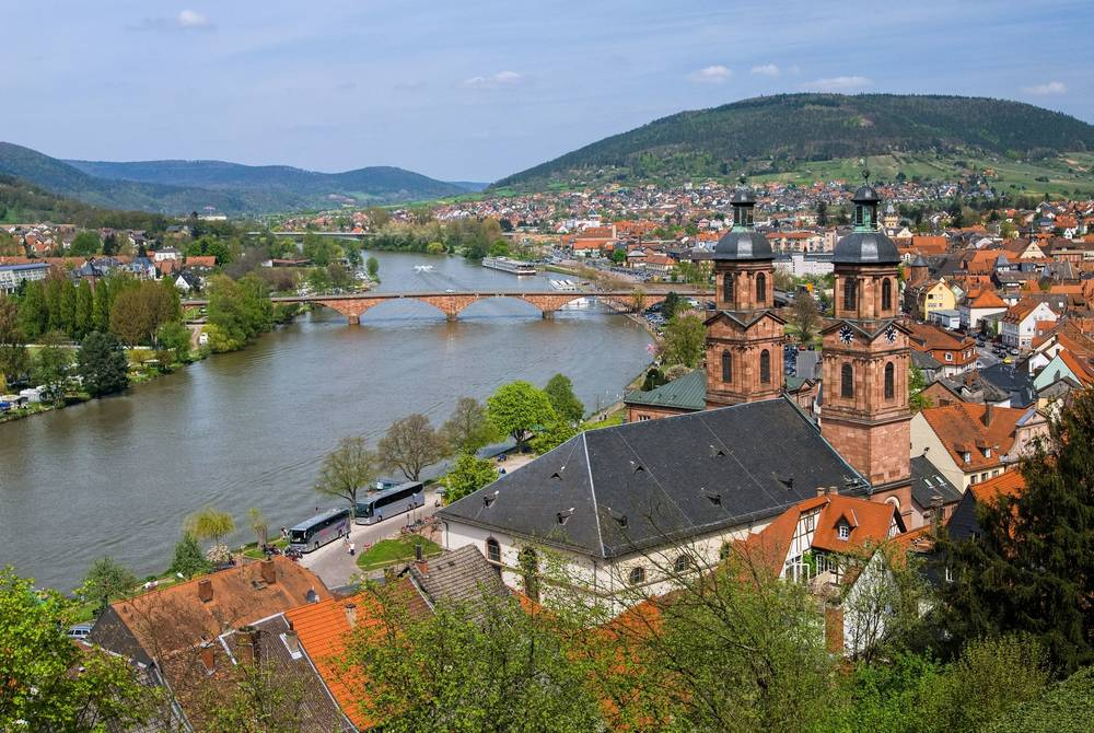 Miltenberg, Main River, Germany