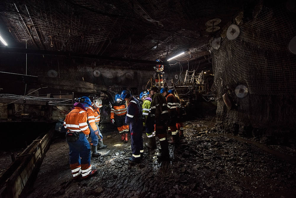 Mine visit (Credit: Agurtxane Concellon/Hurtigruten Svalbard)