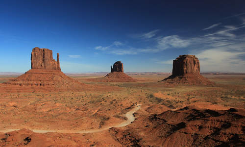 Mittens, Monument Valley, Utah
