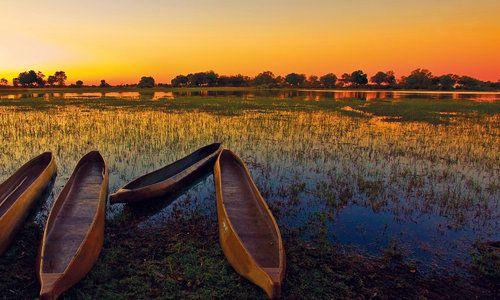 Mokoros, Okavango Delta, Botswana