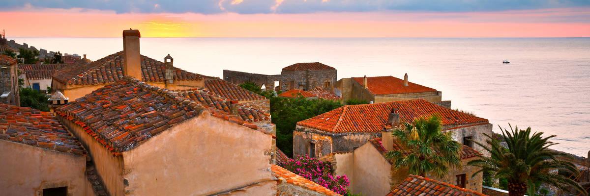 Monemvasia village, Greece