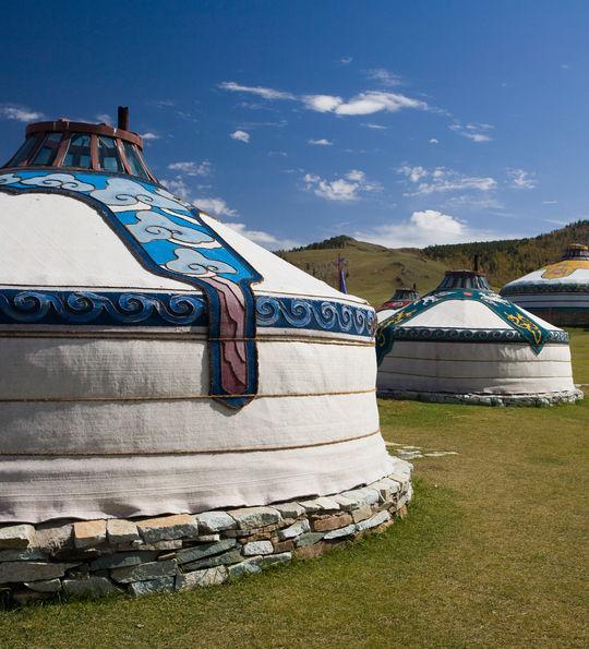 Mongolian Ger, Golden Eagle Trans-Siberian Express