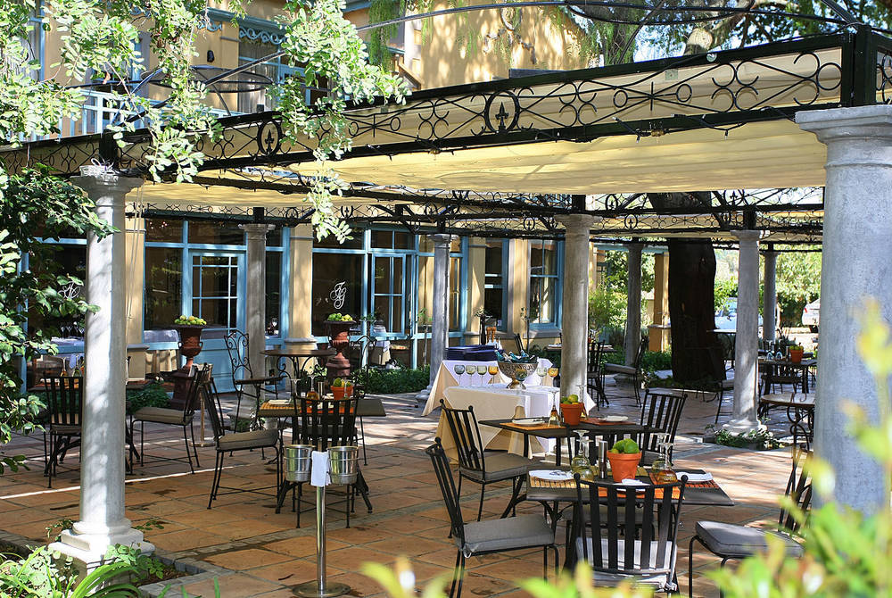 Monneaux Restaurant, Franschhoek Country House