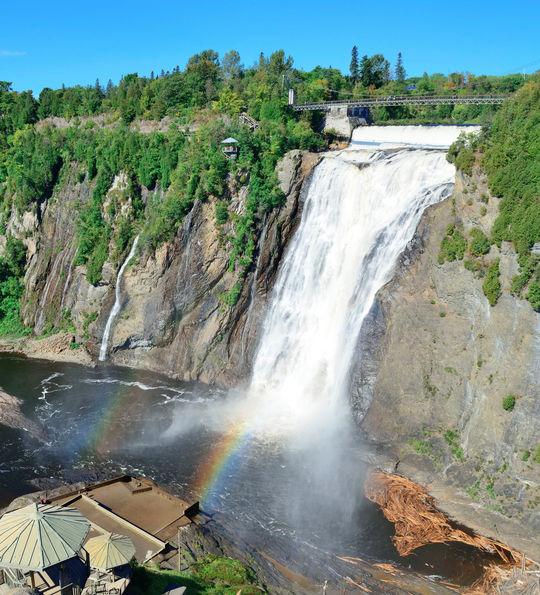 Montmorency Falls, Québec, Canada