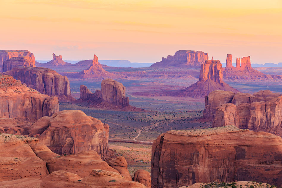 View over Monument Valley