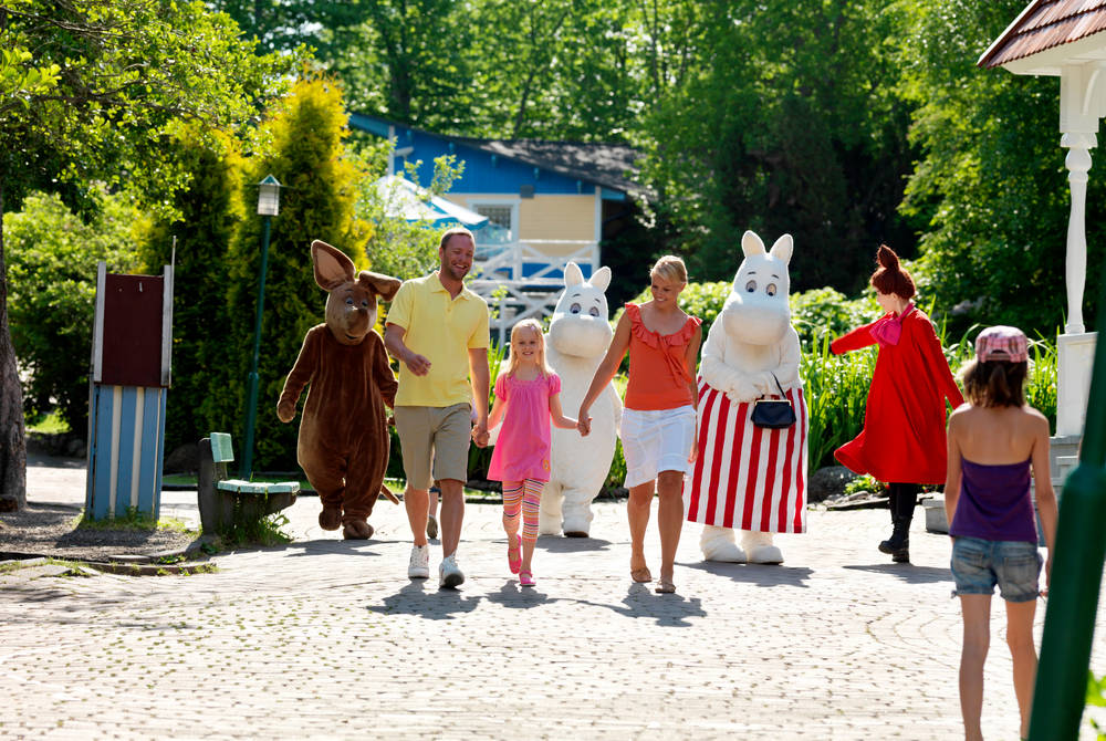 Moomin Holiday in Finland
