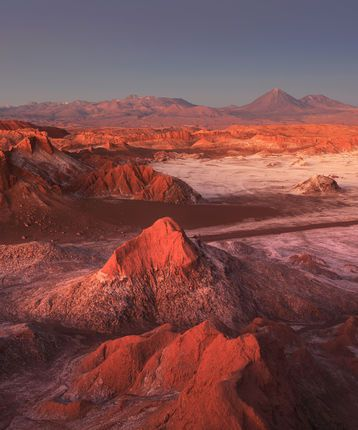 Moon Valley (Valle de la Luna), Atacama Desert in Chile
