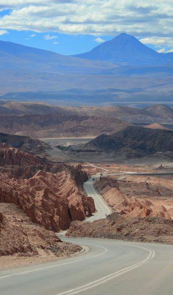 Moon Valley (Valle de la Luna), Atacama Desert in Chile