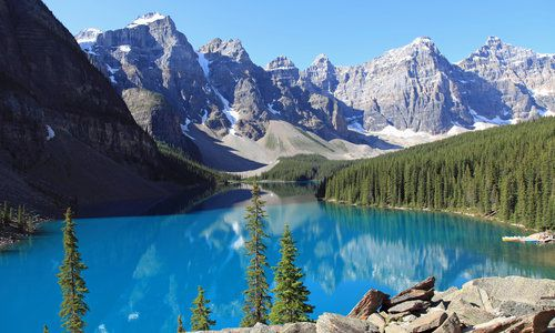 Moraine Lake, Banff National Park, Canada