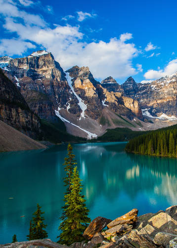 Moraine Lake, Banff Nnational Park, Alberta