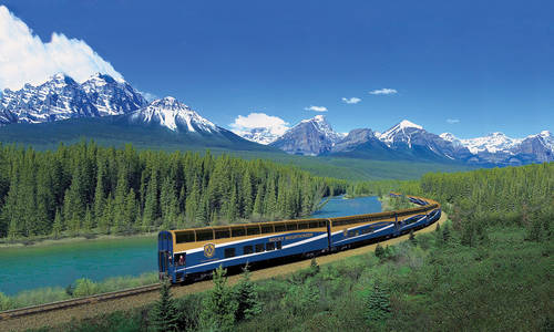 Morant's Curve, Rocky Mountaineer