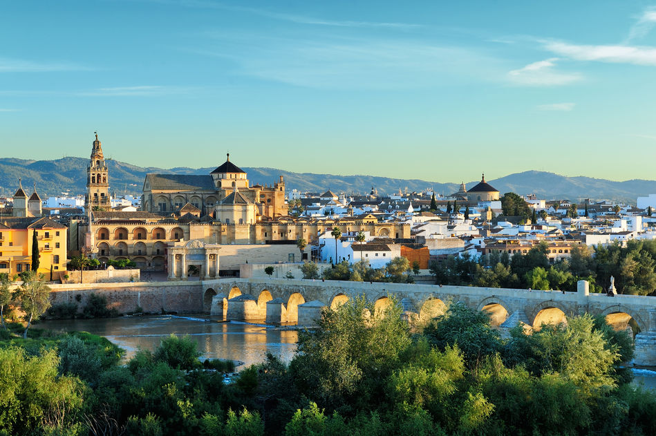 Cordoba's Mosque, Cathedral and Roman Bridge in Spain