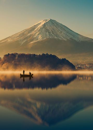 Mt Fuji in Hakone, Japan