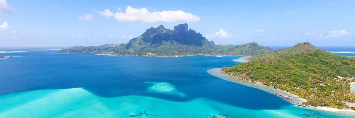 Mount Otemanu, Bora Bora, French Polynesia