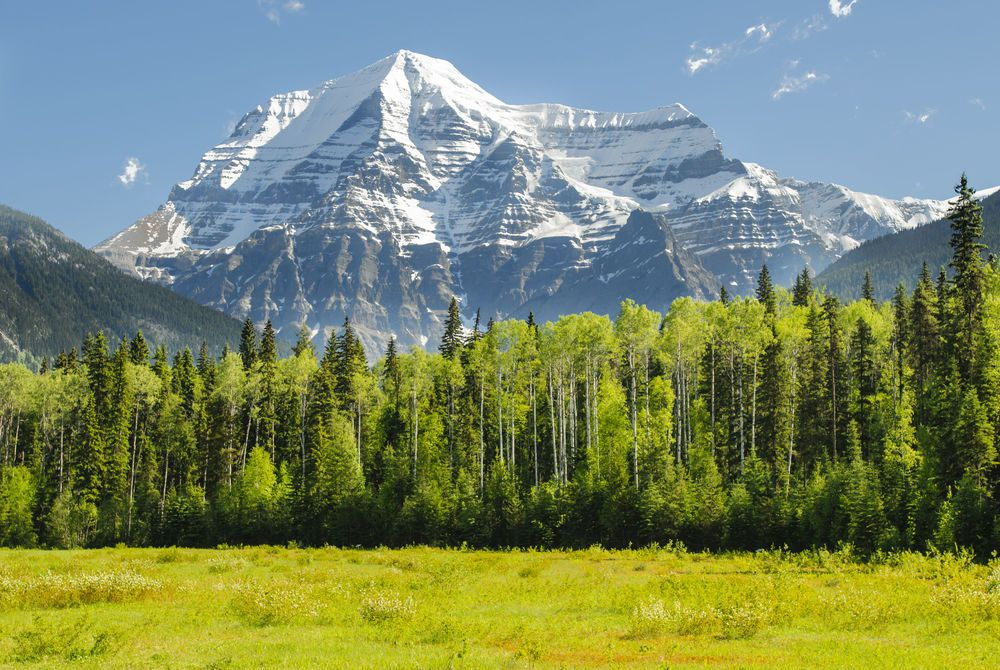 Mount Robson, Canadian Rocky Mountains, Canada