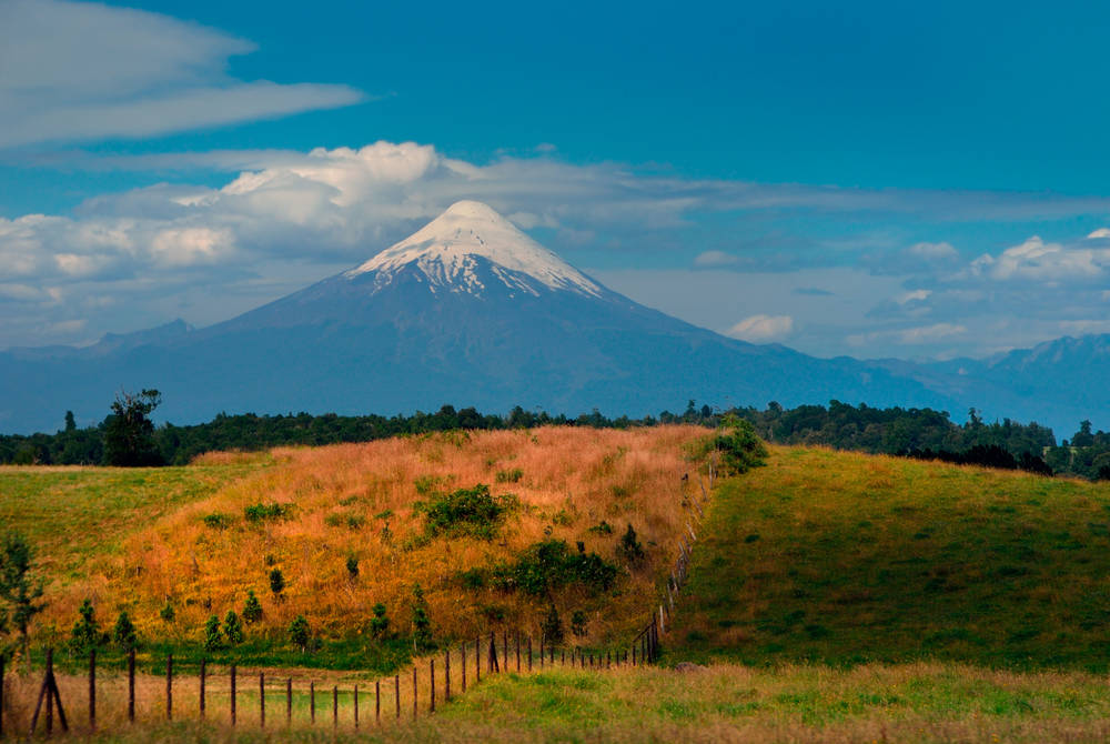 Mountains, Puerto Montt, Southern America