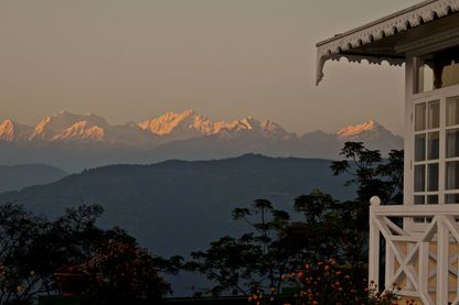 Mountains from Glenburn, Glenburn Tea Estate