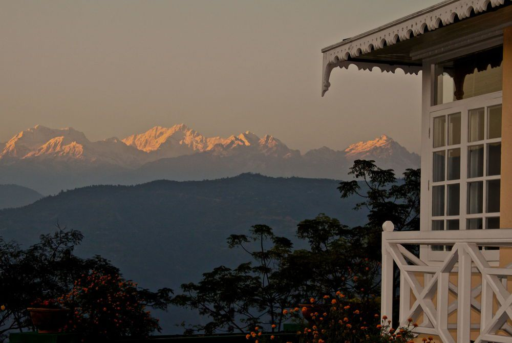 Mountains from Glenburn, Glenburn Tea Estate, Darjeeling