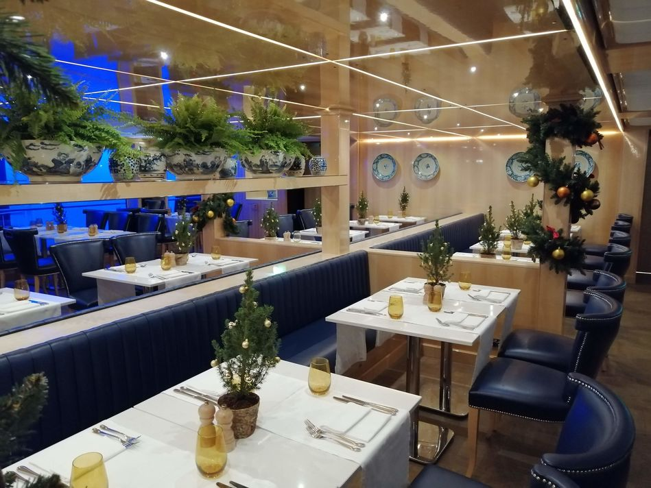 Mozart Dining Room, SS Beatrice, Uniworld Boutique River Cruises