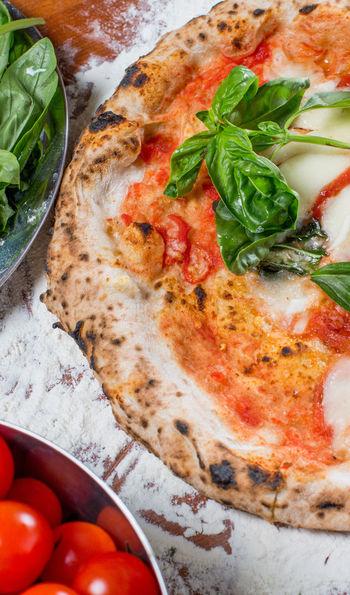 Mozzarella pizza, Italy