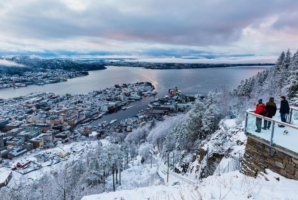 Mt. Fløyen, Bergen