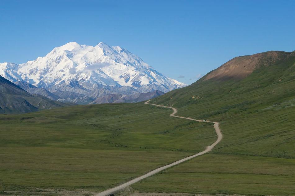 Mt. McKinley from Denali National Park, Alaska, USA