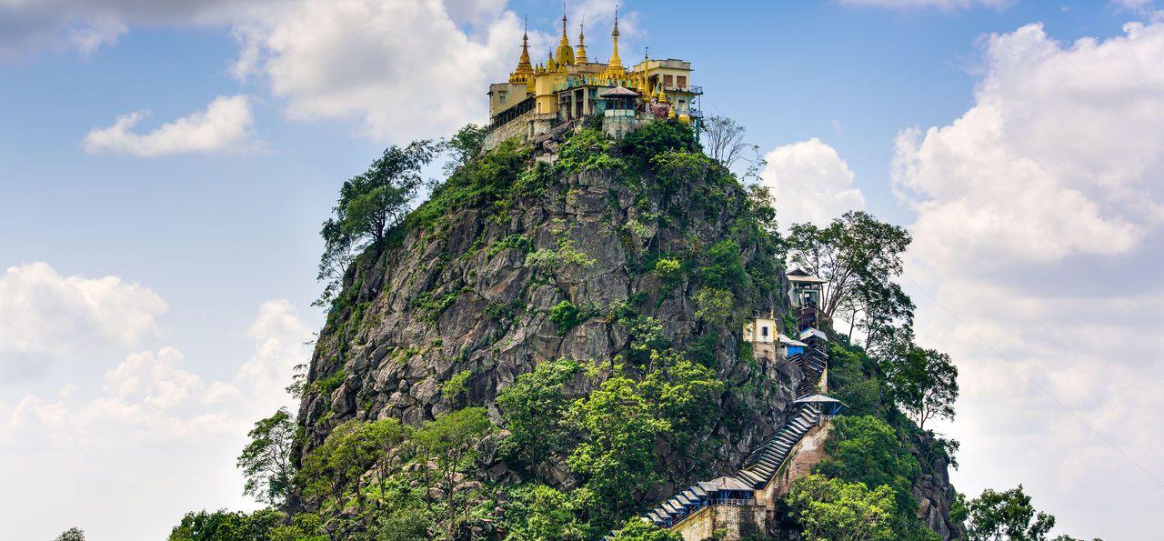 Mt. Popa, Myanmar, Burma, Asia